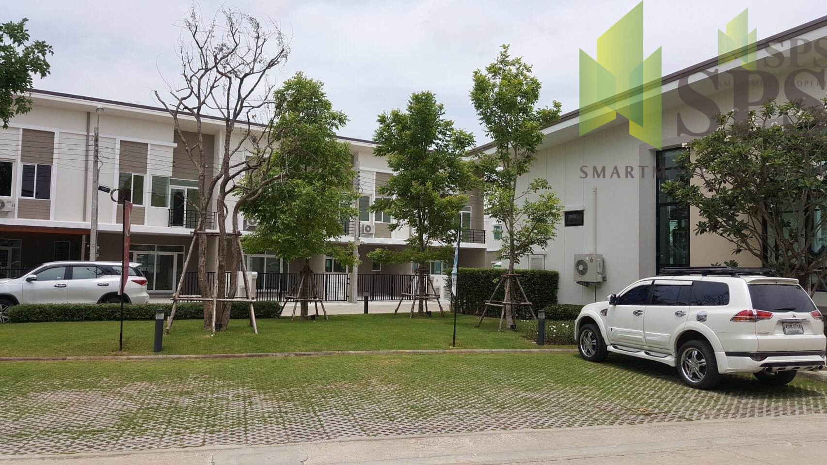 Townhome 2 Stories in City Bangna by Q House for RENT(SPSP54)