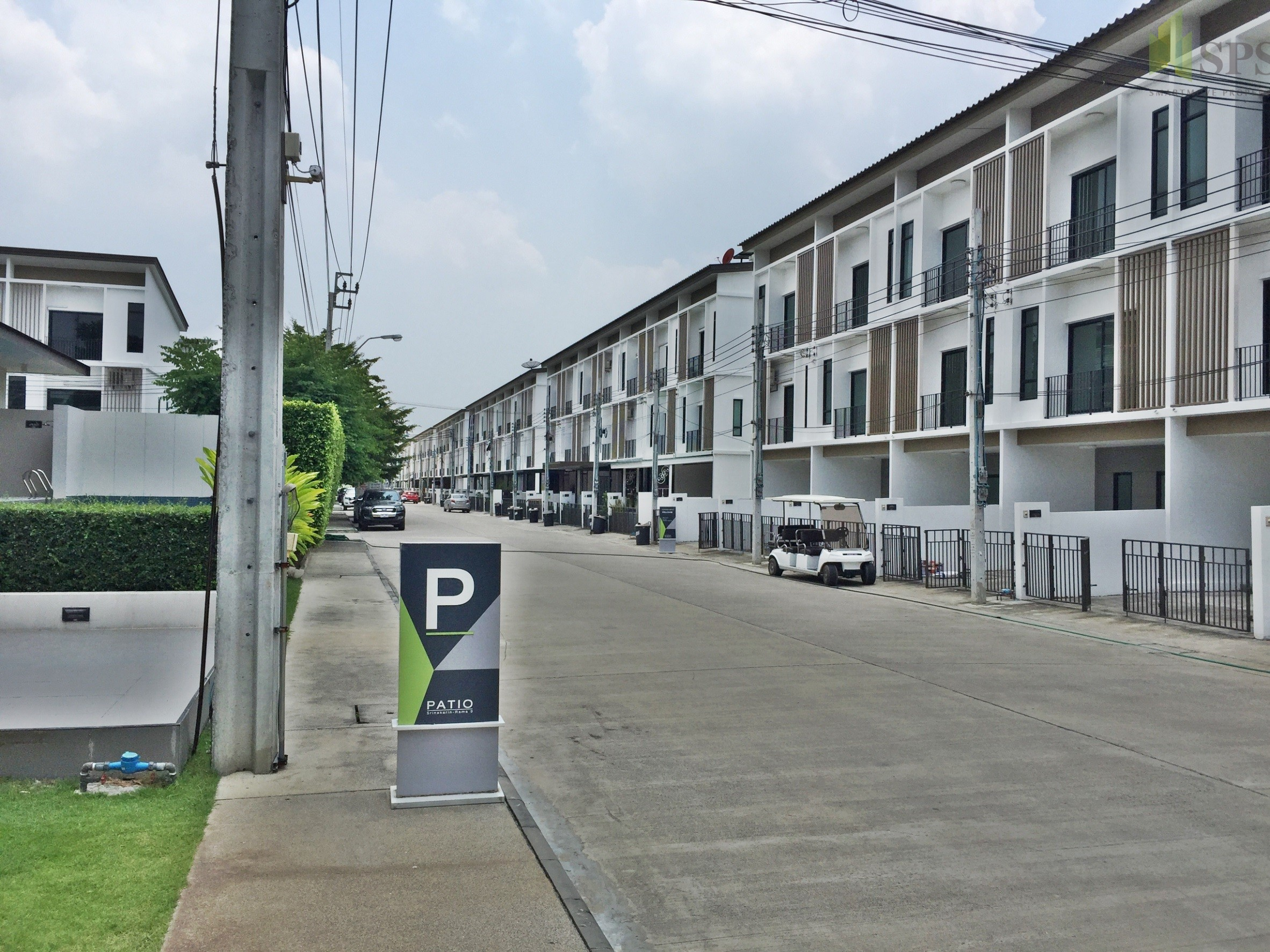 Patio town home Krungthep Kreetha For Rent (Property ID: SPST485 ...