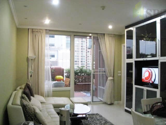 For Rent Home style condo 1bedroom at Manhatton Chidlom (SPSTP1442)