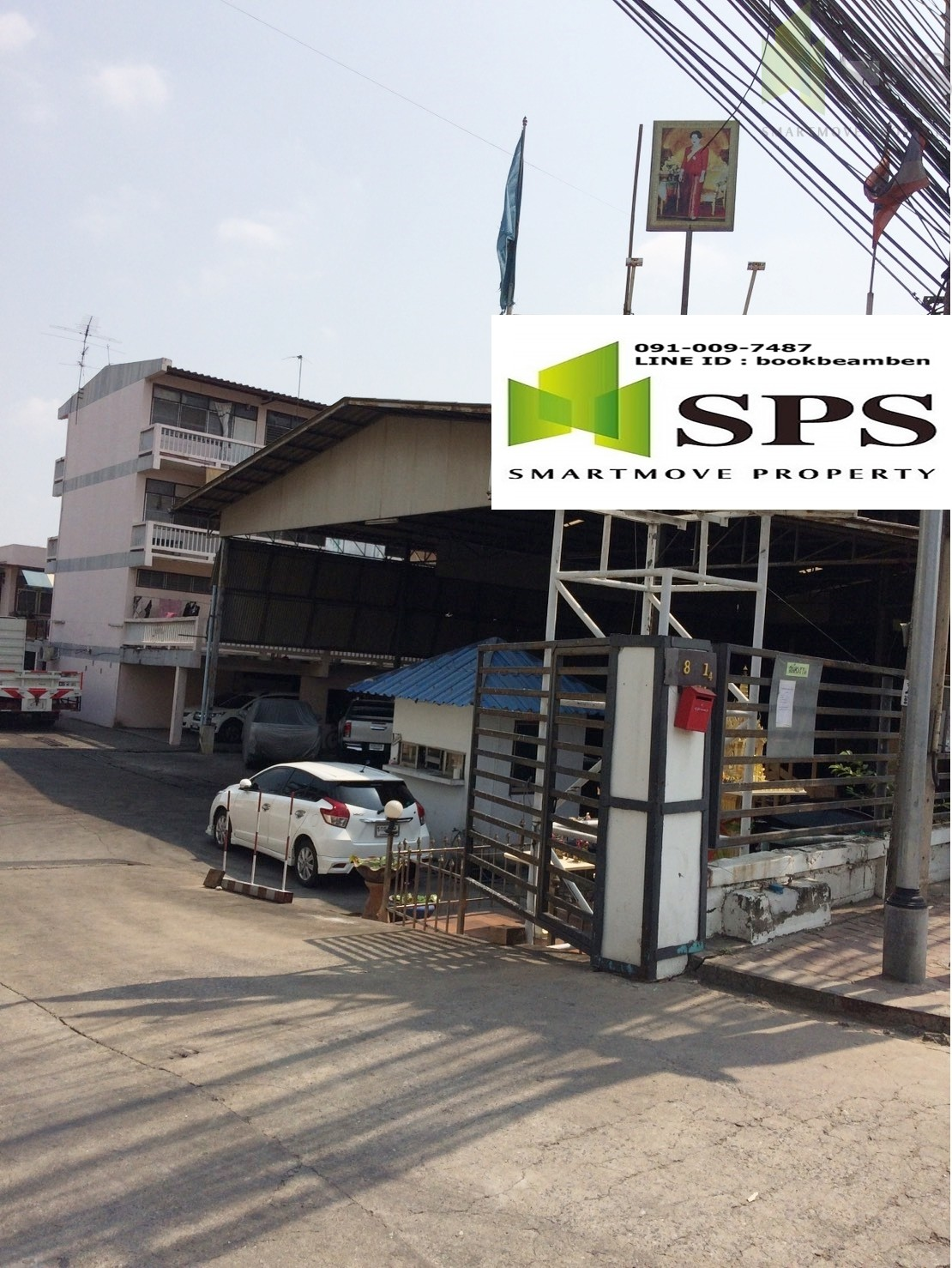 Warehouse factory FOR RENT (SPS-GW31)