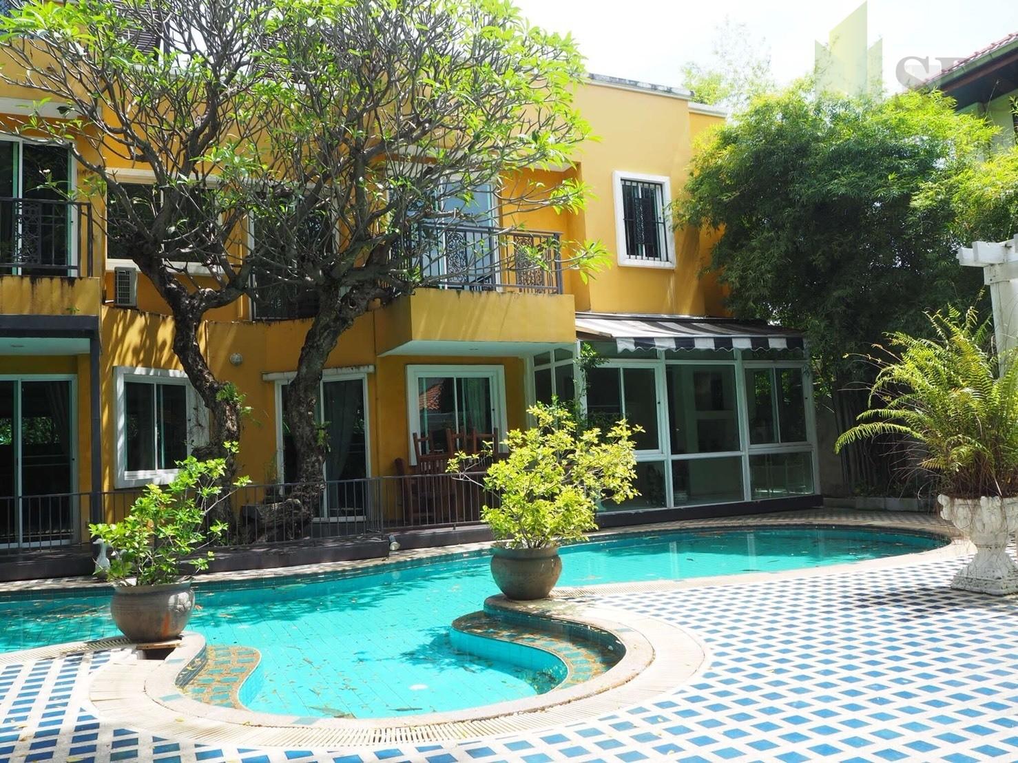 Single House FOR RENT Mu Ban Krittaya (SPS-GH24)