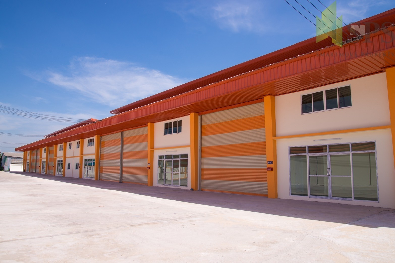For Sale Warehouse with office/Newly-Built Factory at Phreaksa road (PURPLE ZONE!) SPS-GW81