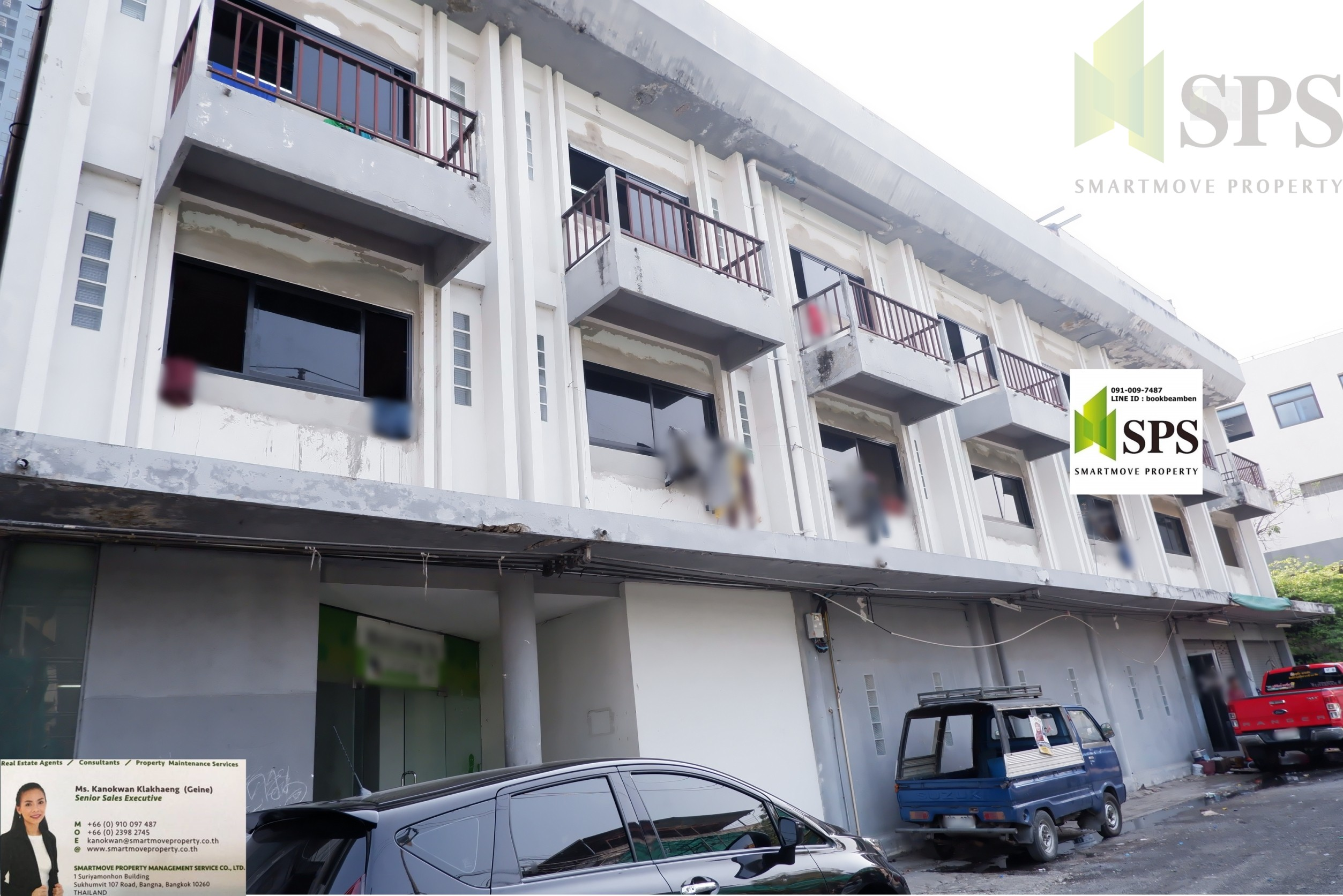 For Rent Commercial Building Home office / Shop House/(SPS-GO112)
