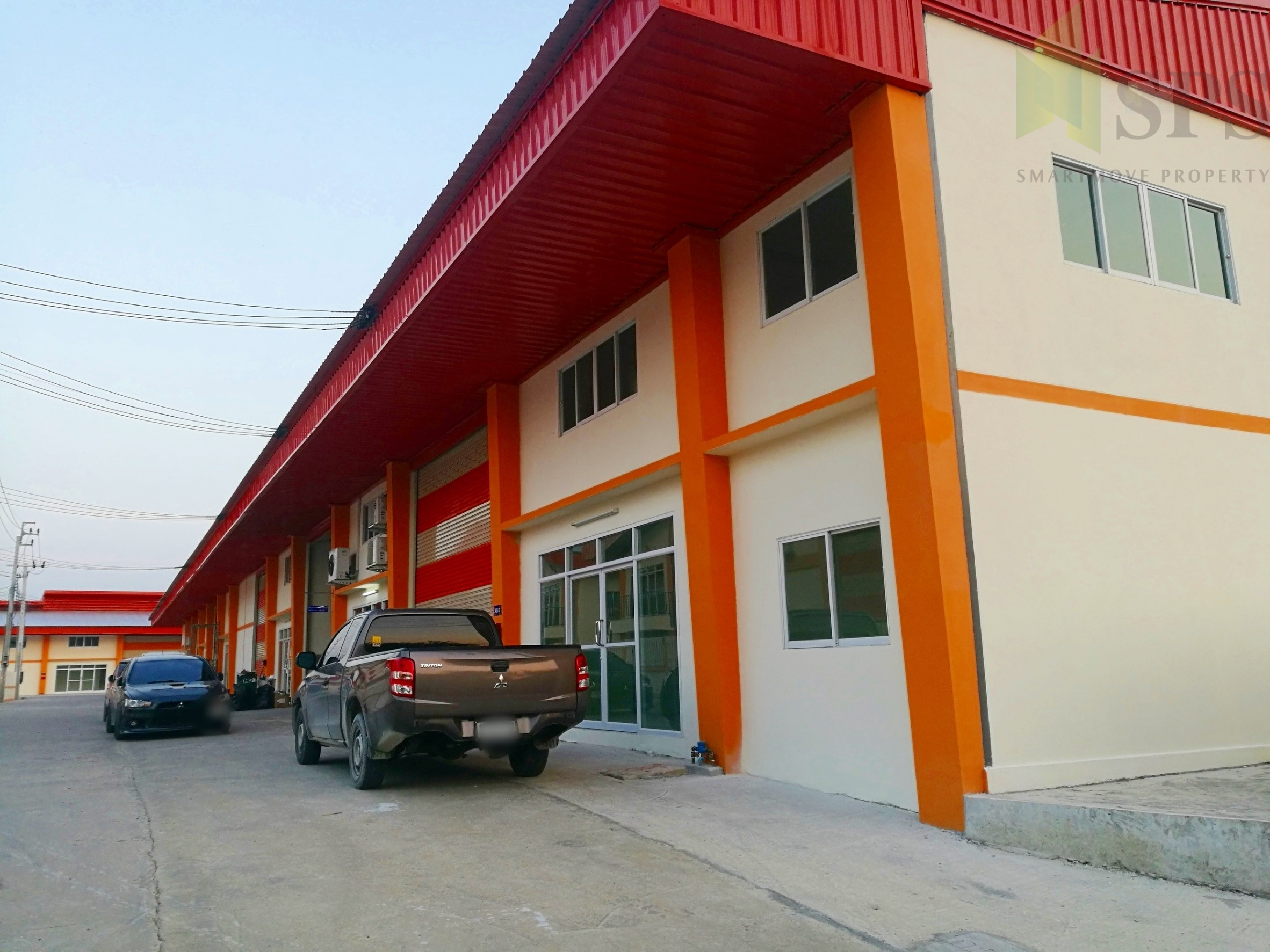 For Sale Warehouse with office/ Newly-Built Factory at Phreaksa road (PURPLE ZONE!) (SPS-GW77)