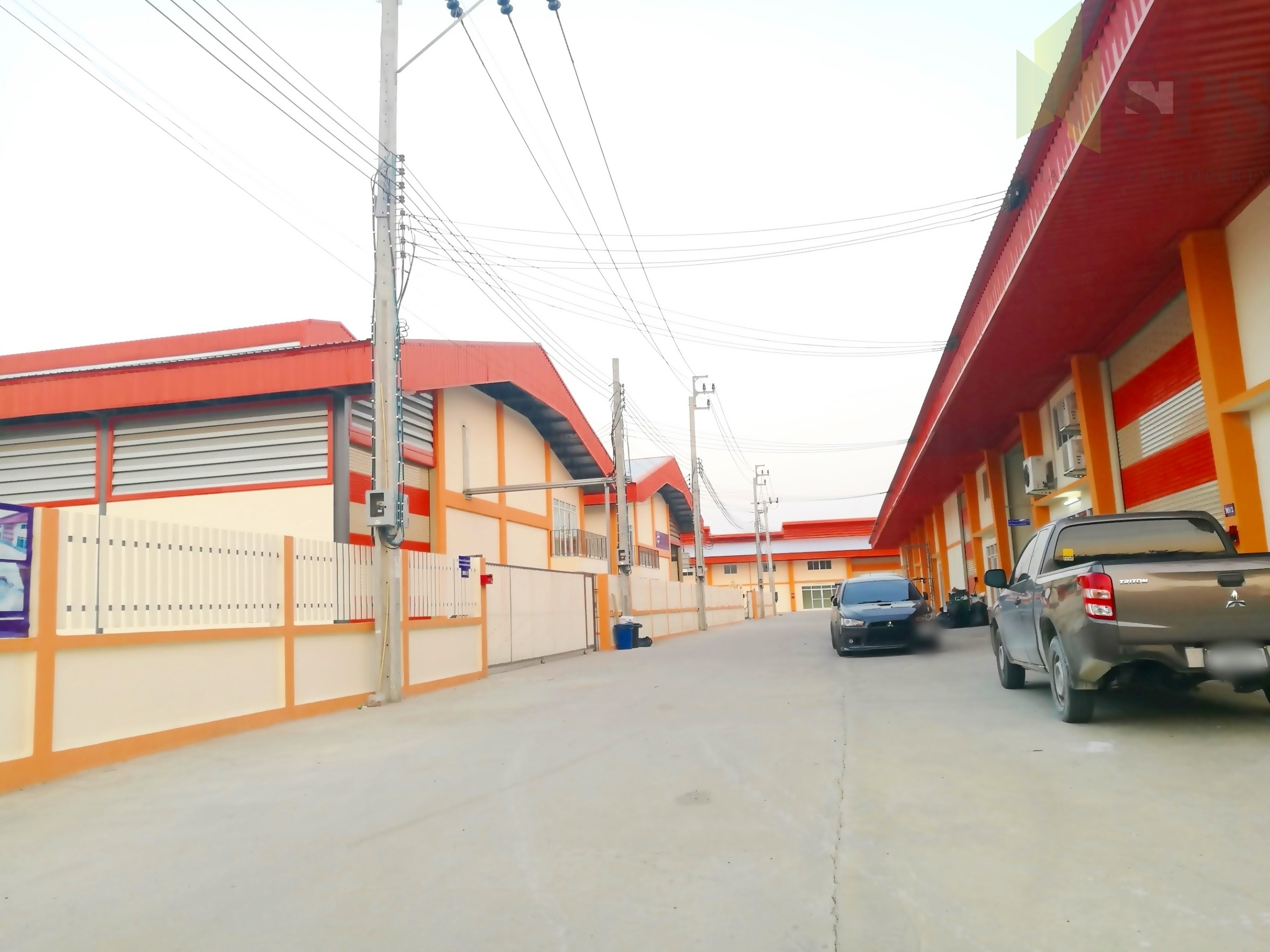 For Sale Warehouse with office Newly-Built Factory at Phreaksa road (PURPLE ZONE!) (SPS-GW76)