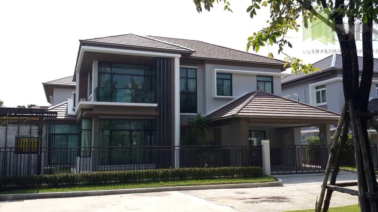 The Modern Single House at The Grand Bangna – Wongwaen for RENT&SALE (SPS-GH68)