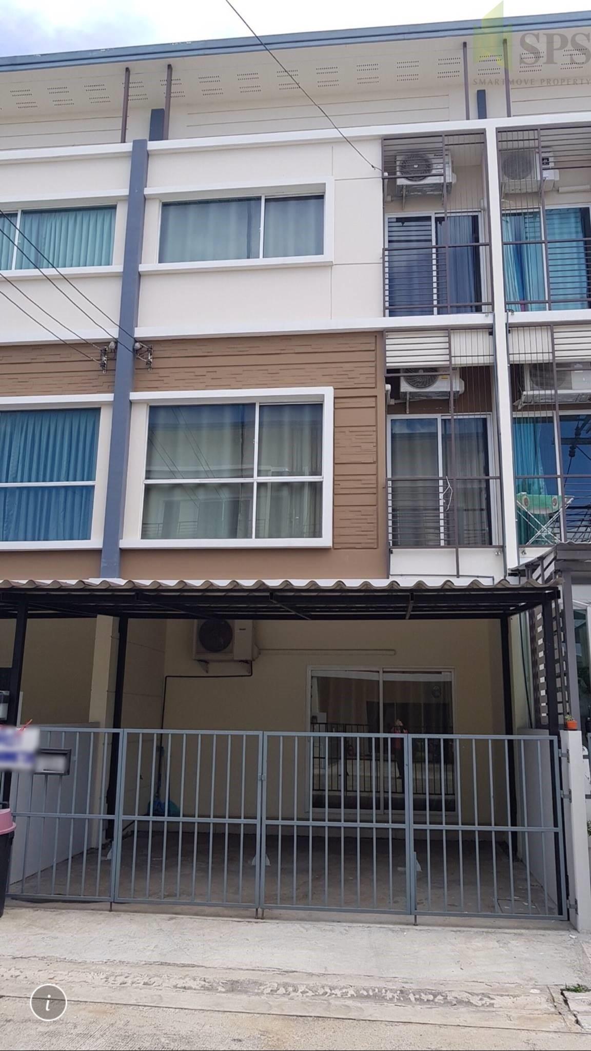 For Rent Town Home Villette City Pattanakarn วิลเลต ซิตี้ พัฒนาการ(SPS-GH61)