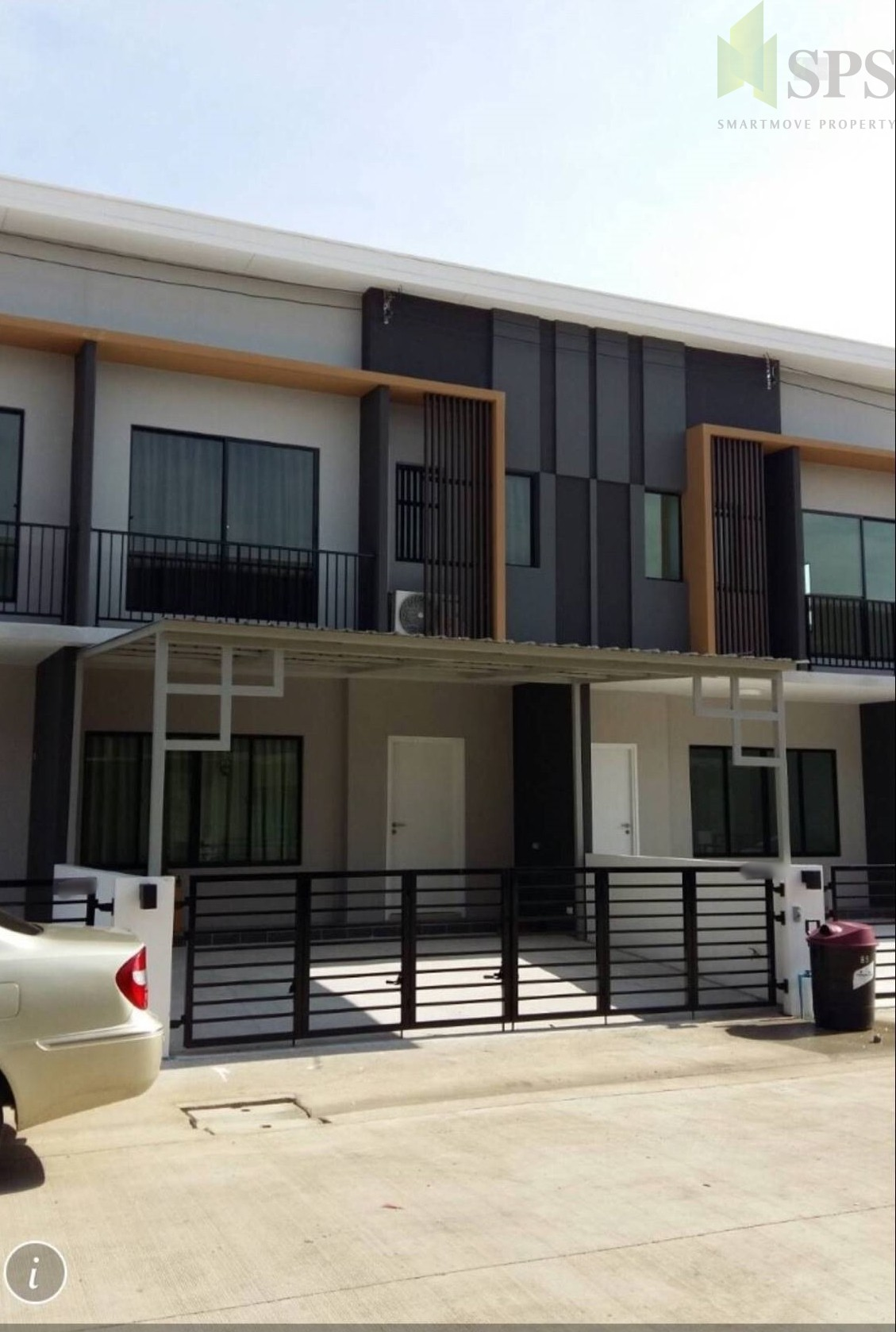 For Rent Town House The Connect Patthanakarn38 (SPS-GH60)