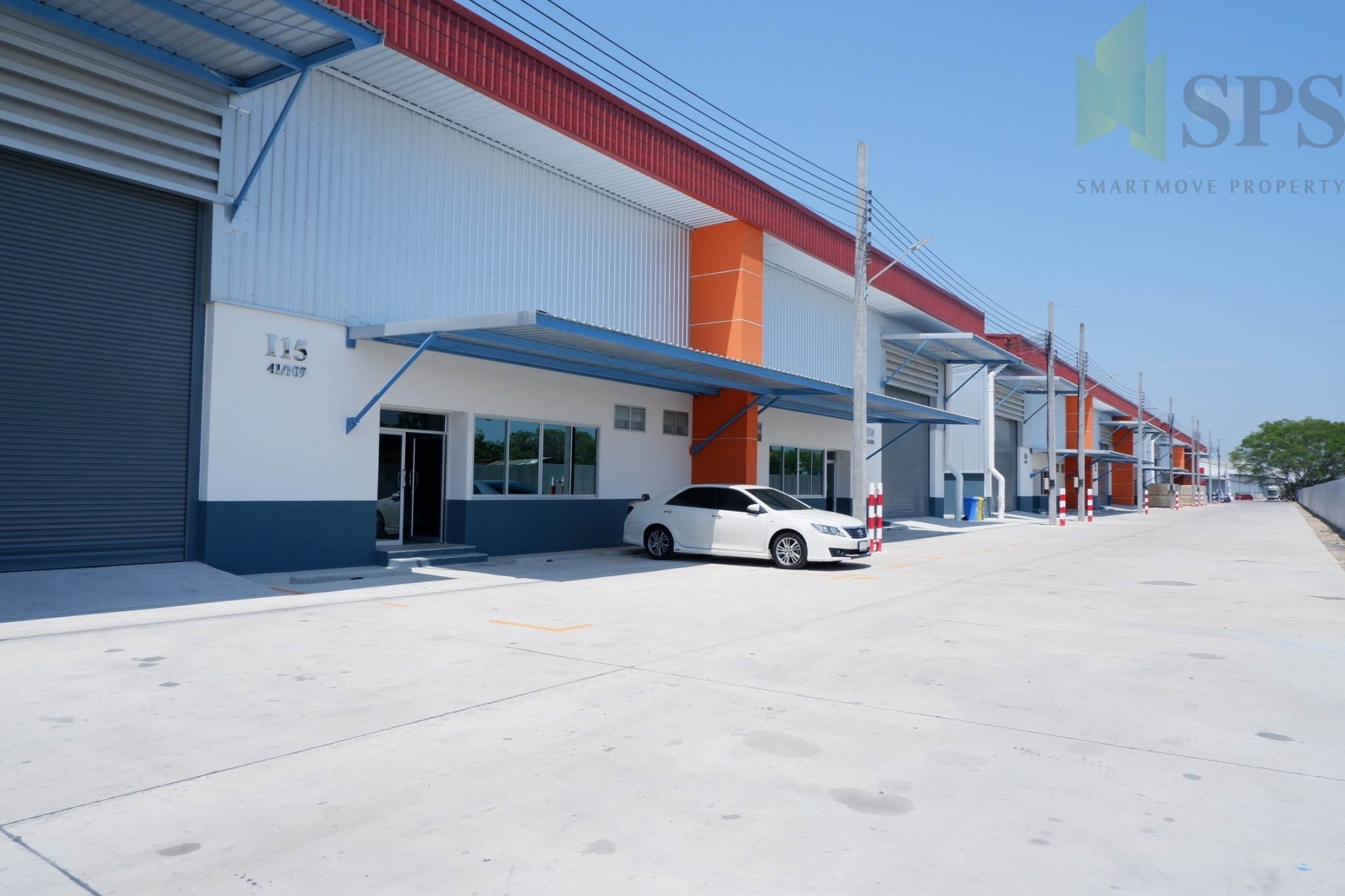 For Rent Warehouse / Factory with office Bangna-Trad KM16.5 (Property ID: SPS-PP128)