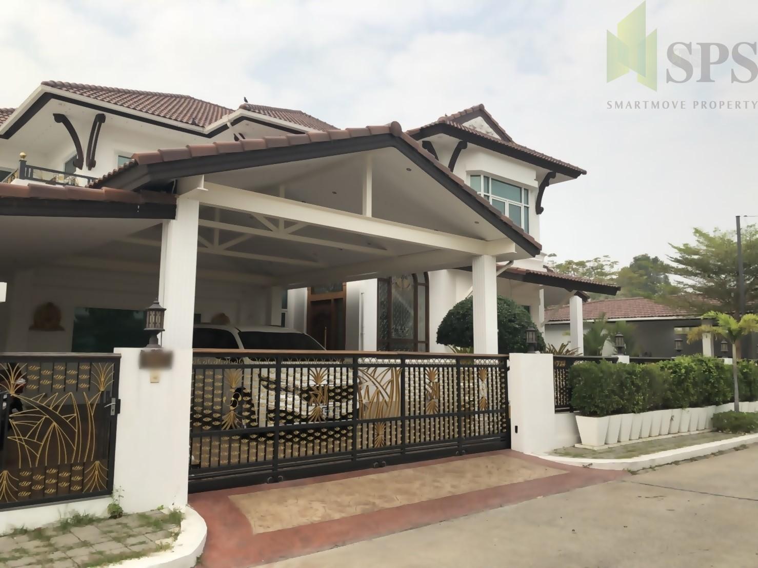 For Sale Single House 5 bedrooms Anaville-Suvarnhabhumi (SPS- SPS-GH122)