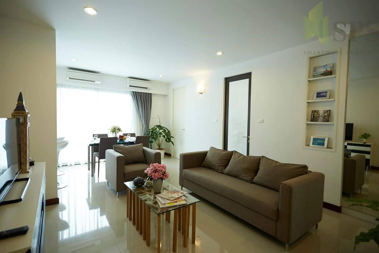 FOR RENT Condo 3 bedsThavee Yindee Residence Sukhumvit 71 (SPS-GC136)