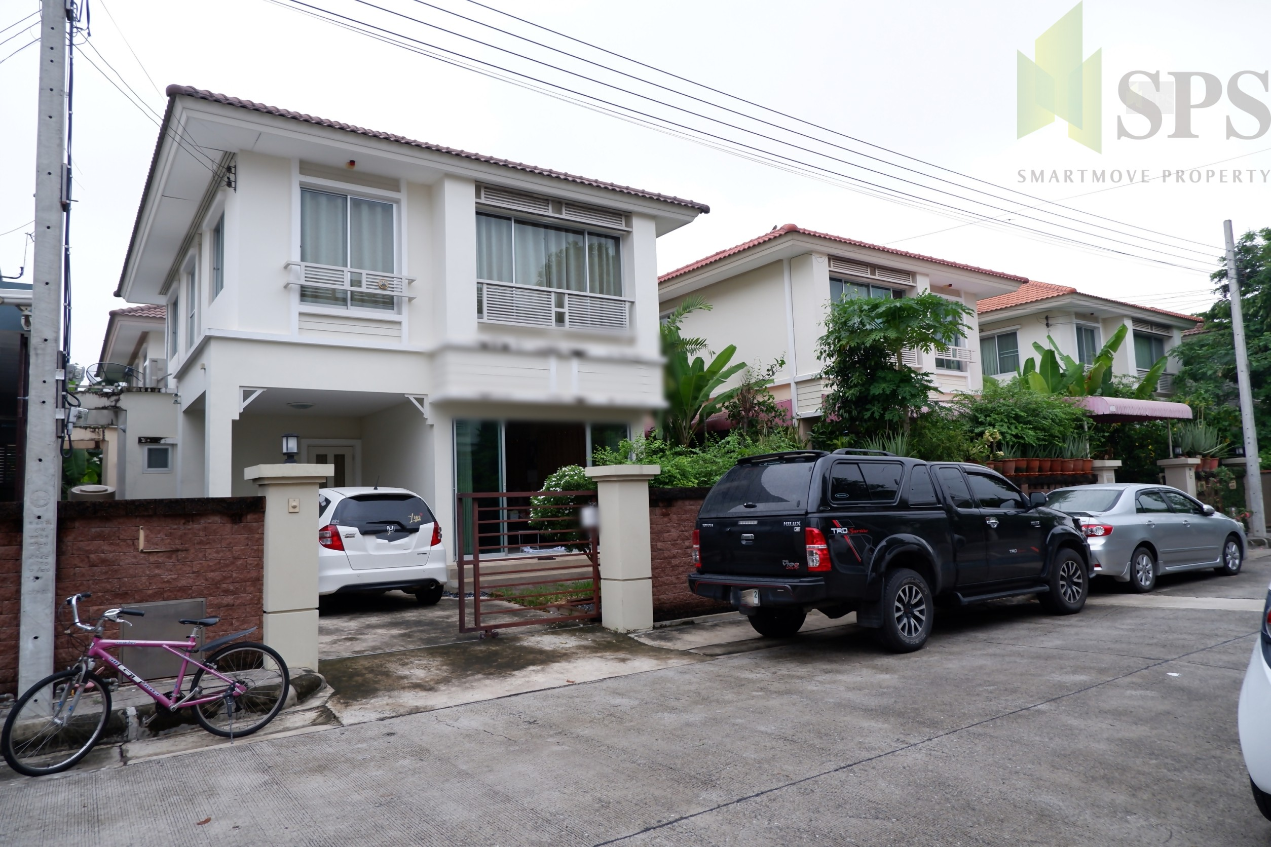 For Rent Single House 3 bedrooms Casa Ville Bangna Km 8 (Property ID : SPS-GH123)
