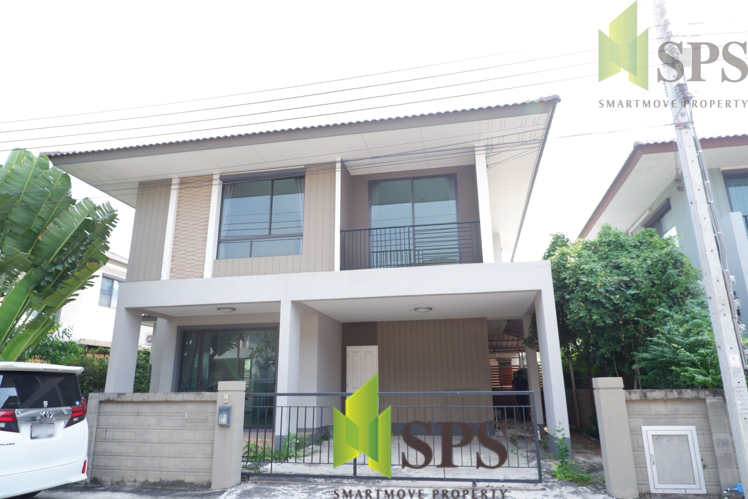 For Rent Single House 3 bedrooms Bangna-Kingkaew Road(SPS-GH9)