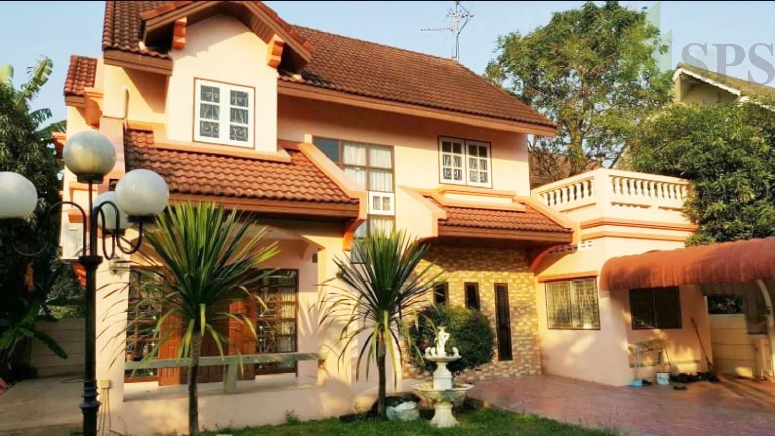 For Rent Single house Ekpailin 4 beds Sri Dan6 (SPS-GH142)
