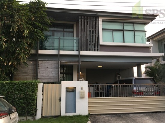 For Rent Single House 3 beds at Krungthepkreetha Soi 7 – SPSEVE-H391