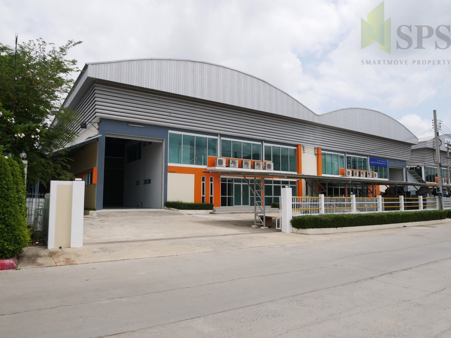 Factory or Warehouse with office at Bangplee-Tamru Road, For Rent ( SPS-PPW004 )