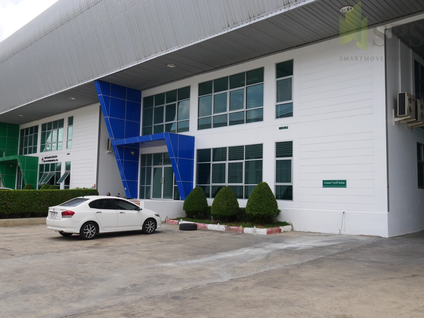 Factory or Warehouse with office at Bangplee-Tamru Road, For Rent ( SPS-PPW003 )
