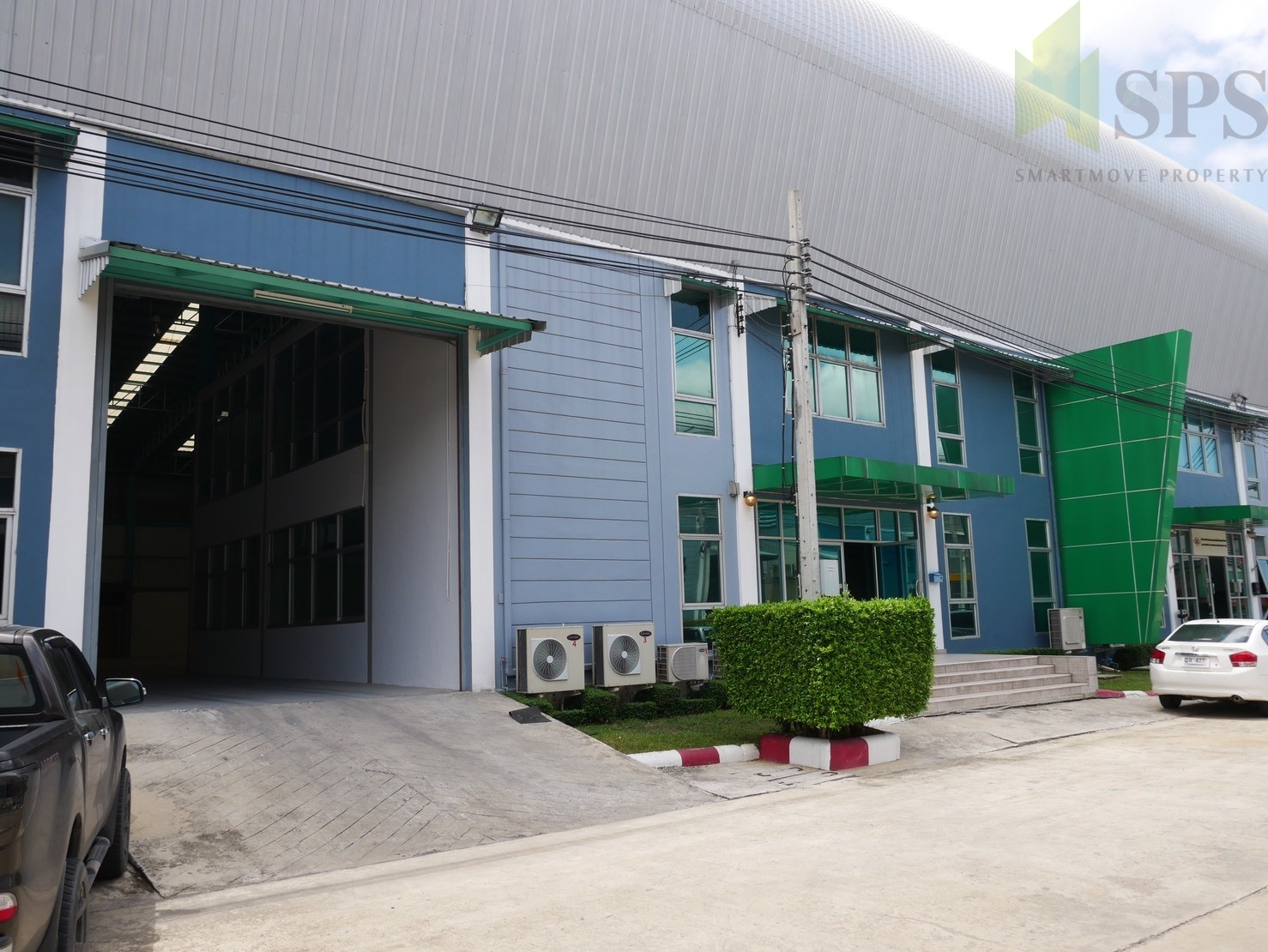 Factory or Warehouse with office at Bangplee-Tamru Road, For Rent ( SPS-PPW002 )