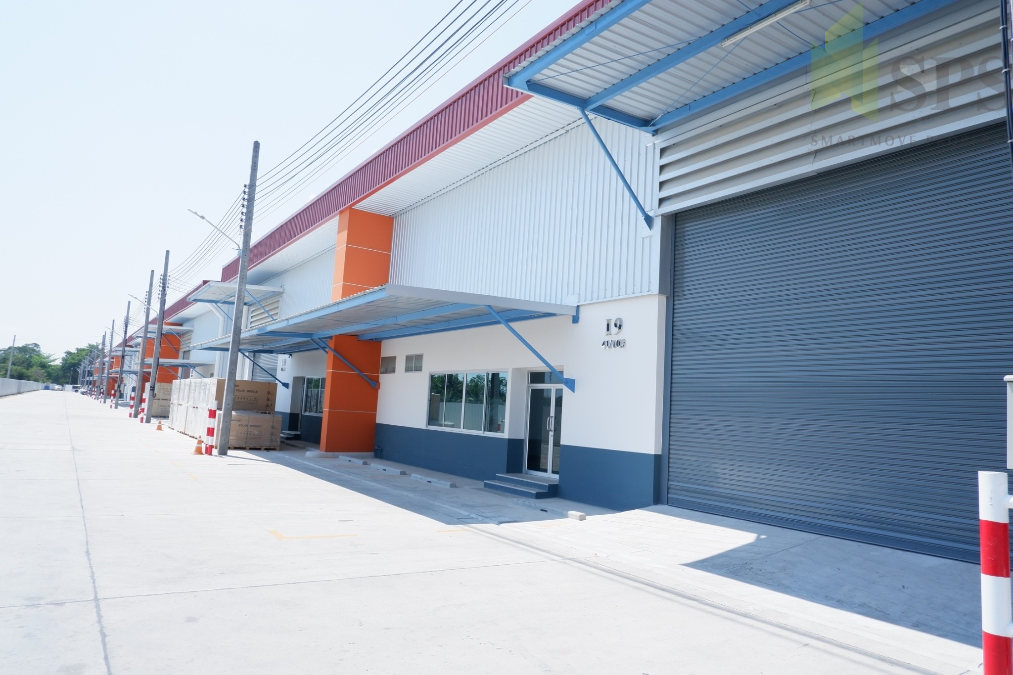 Warehouse / Factory for Rent at Bangna Trat KM.16(SPS-PPW007)