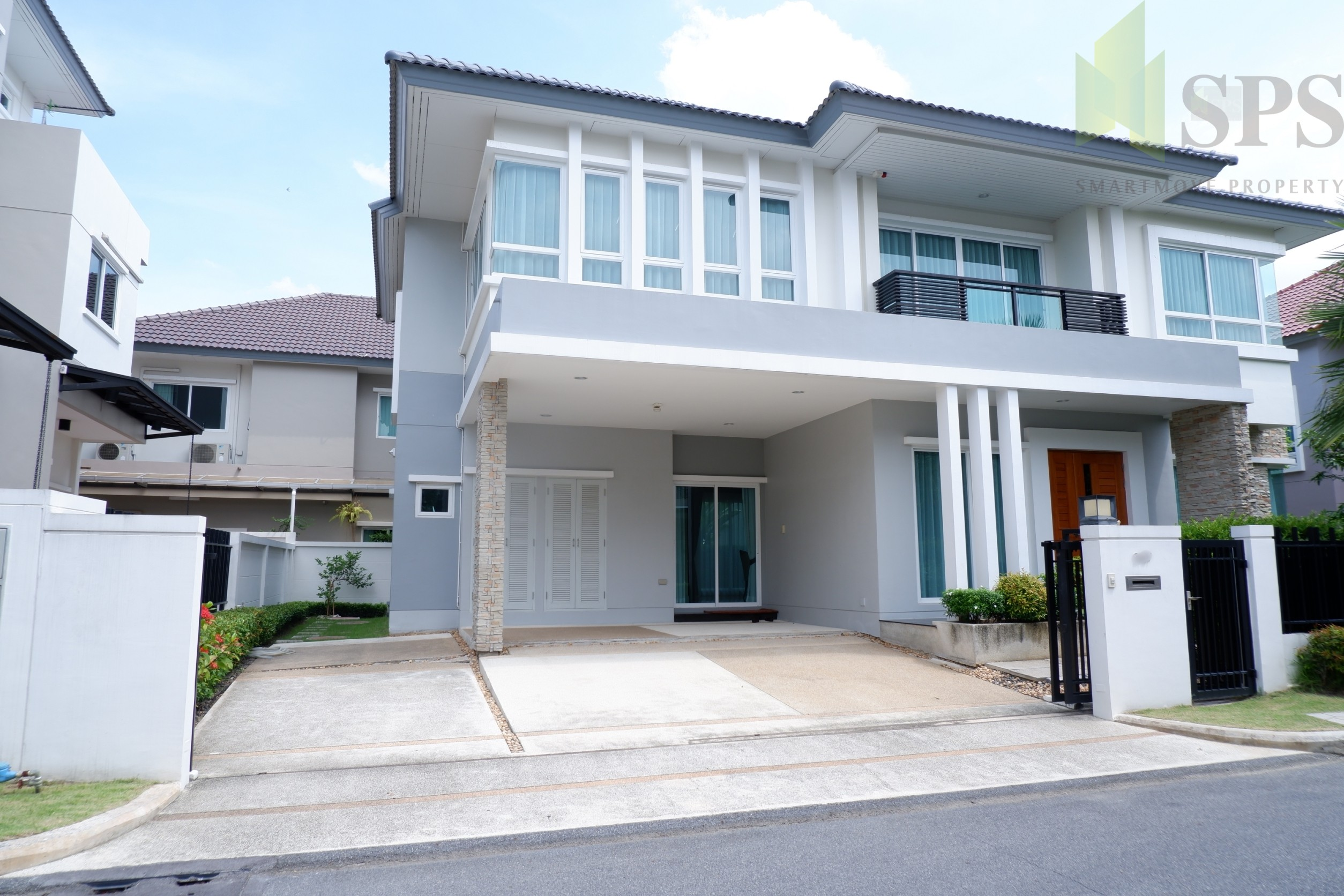 For Rent Single House Grand Bangkok Boulevard Rama 9 – Srinakarin (SPS-GH87)