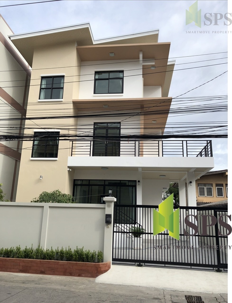 For Rent Single House New renovated 3 beds in Sukhumvit 64 (SPS-GH146)