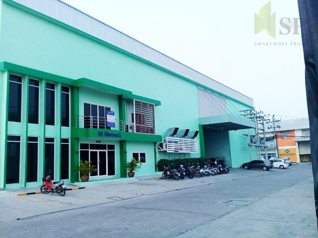 Factory with office in Bang Phli District For Sale(SPS-PPW017)