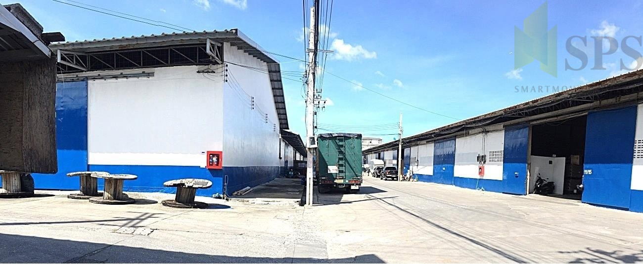 WAREHOUSE 580 SQM FOR RENT AT NAMDAENG-BANGPLEE (SPS-PPW026)