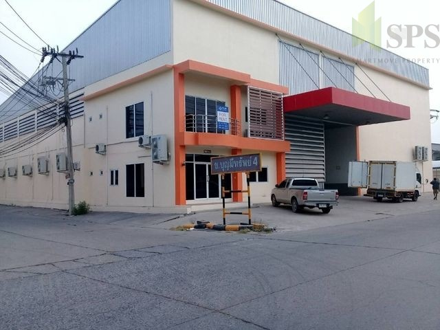 Factory with office in Bang Phli District For Sale (SPS-PPW018)