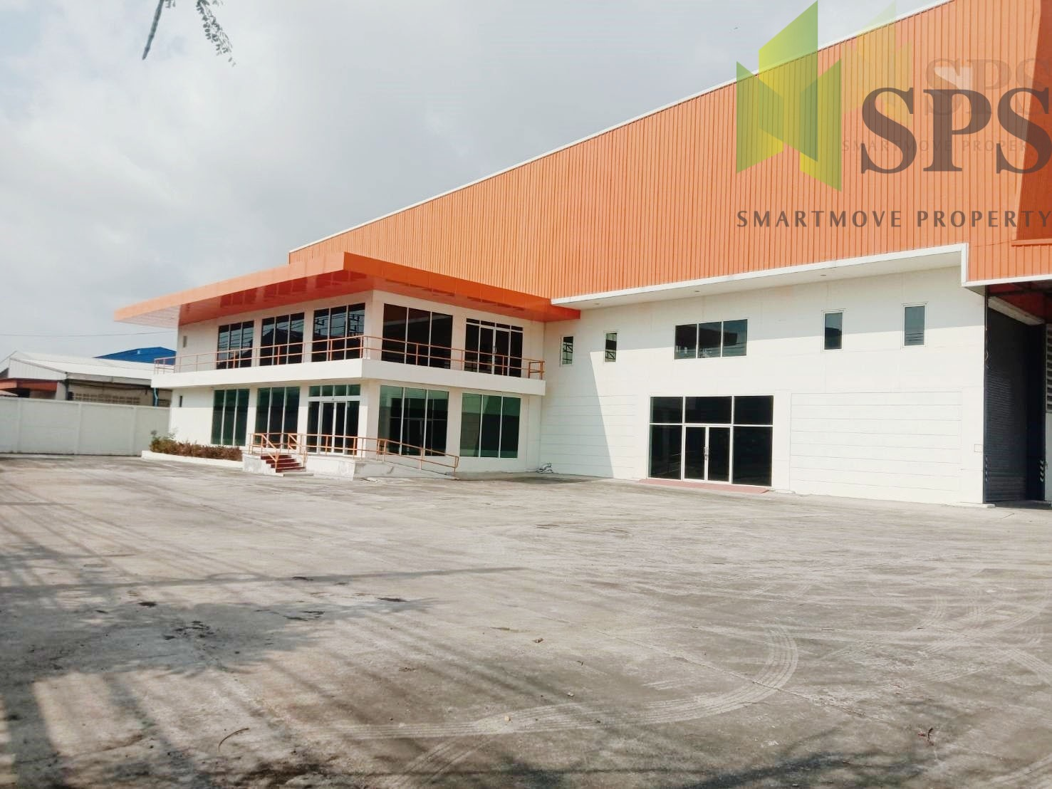 Factory or Warehouse with office at Bangplee-Tamru Road,( SPS-PPW015 )