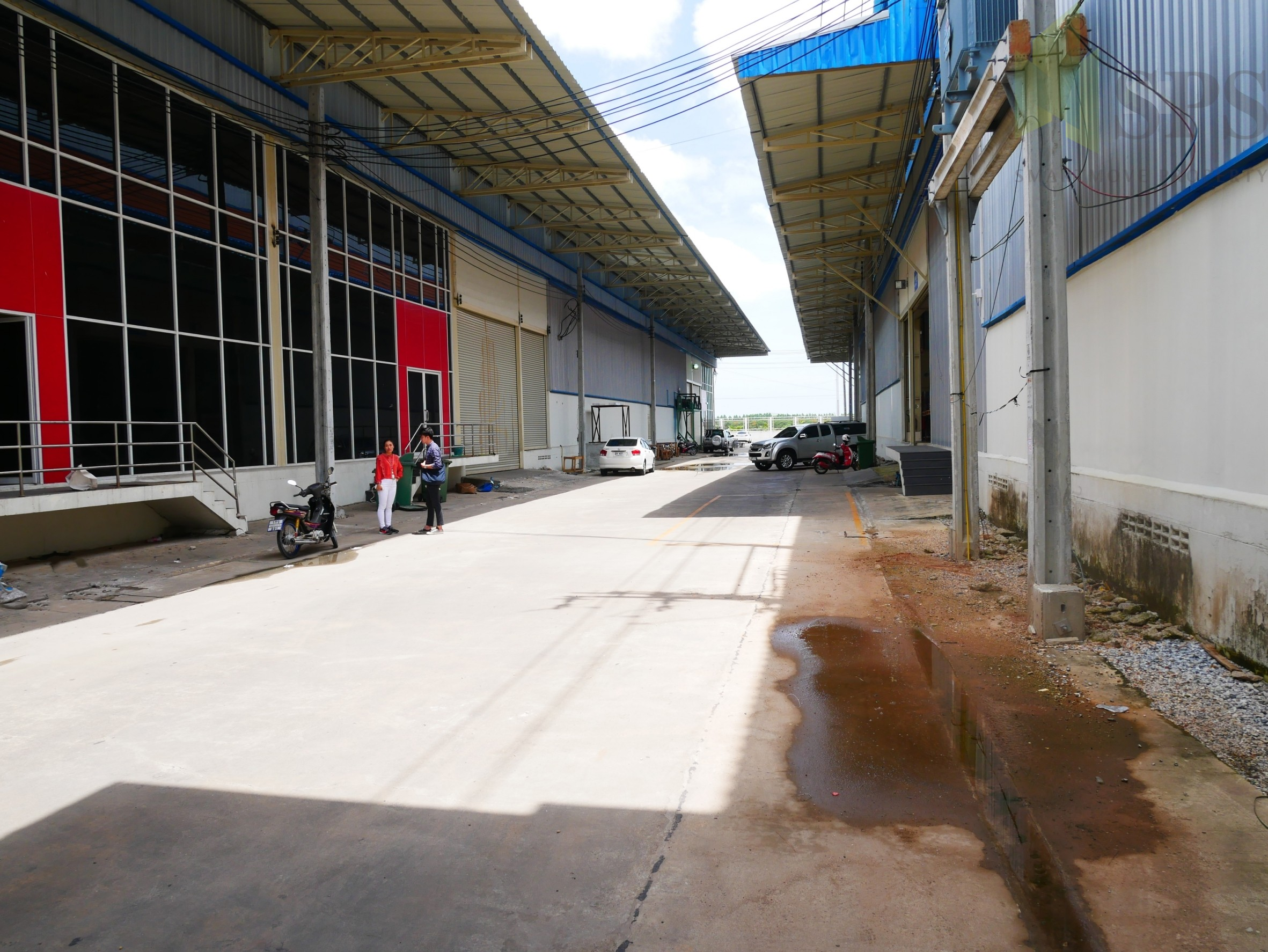 Factory or Warehouse with office at Bangplee-Tamru Road,( SPS-PPW016 )
