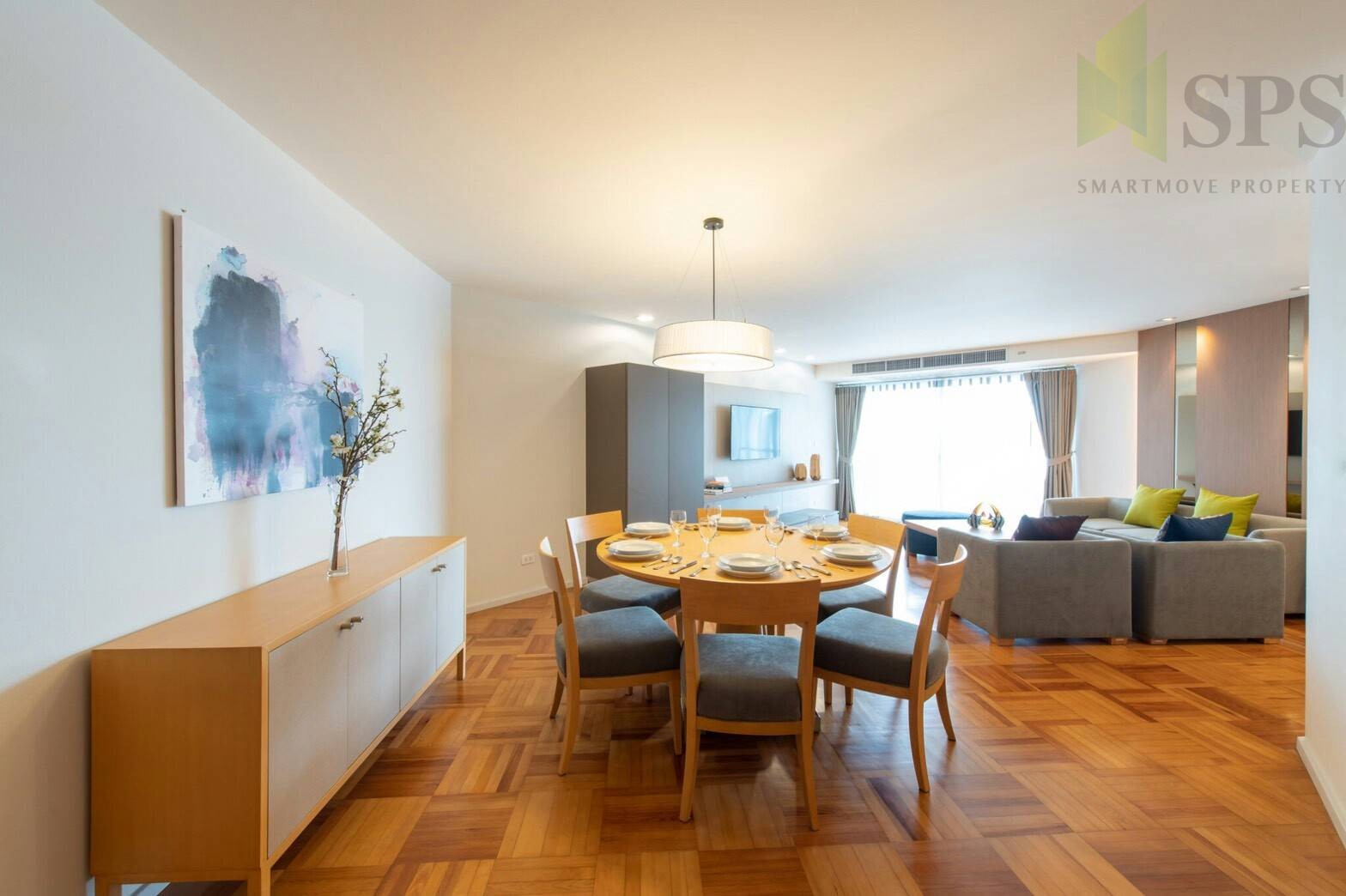 For RENT Apartment service 2 beds in Narathiwas 24 New Sathorn Rd.(SPSN372)