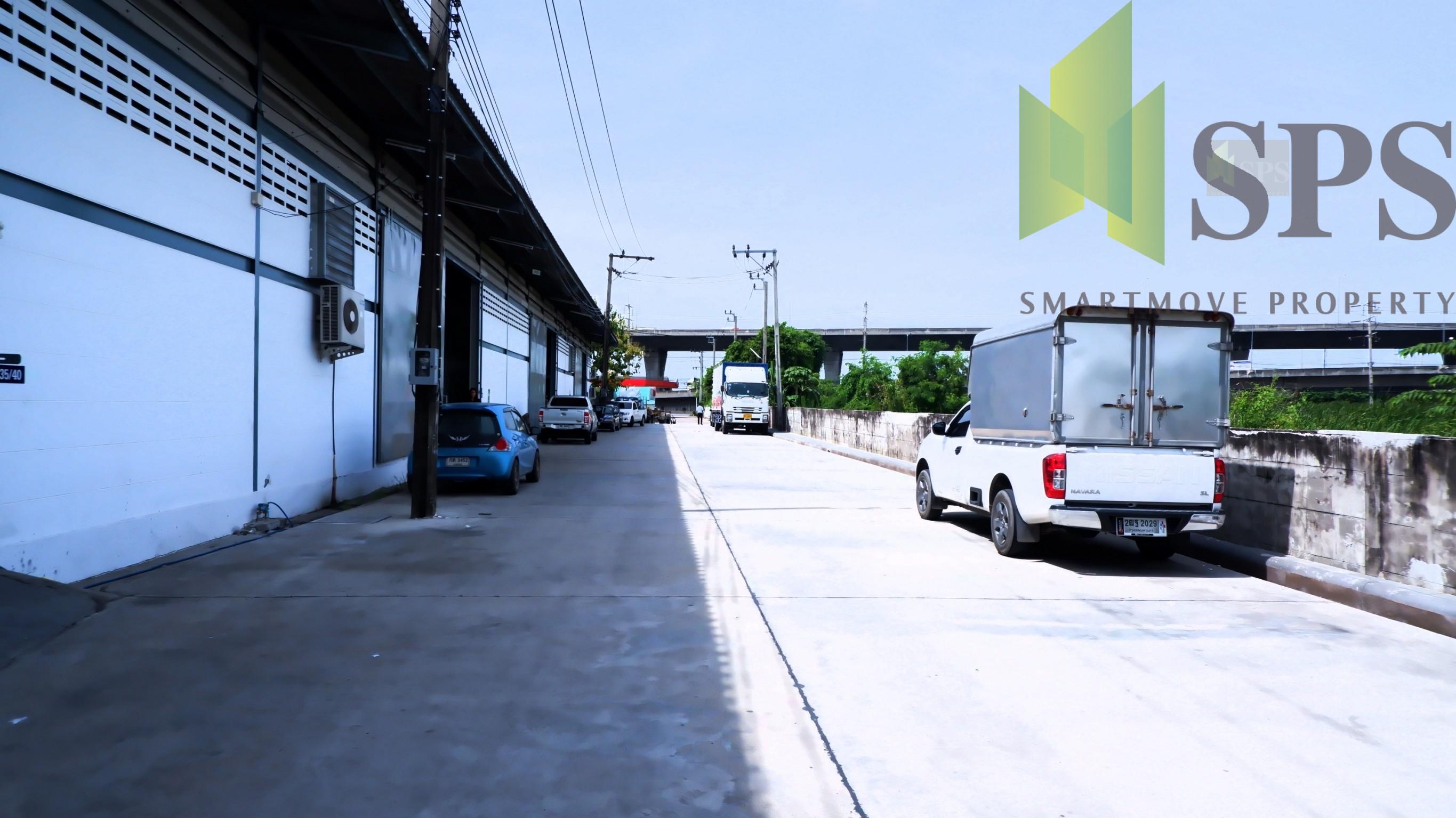Warehouse For Rent / โกดังให้เช่าติดถนนบางนาตราด กม.10(SPS-PPW052)