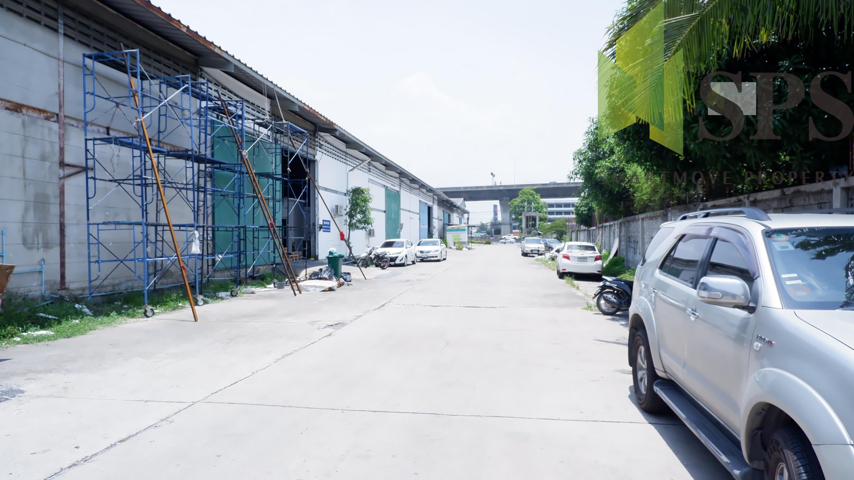 Warehouse For Rent / โกดังให้เช่าติดถนนบางนาตราด กม.10(SPS-PPW054)