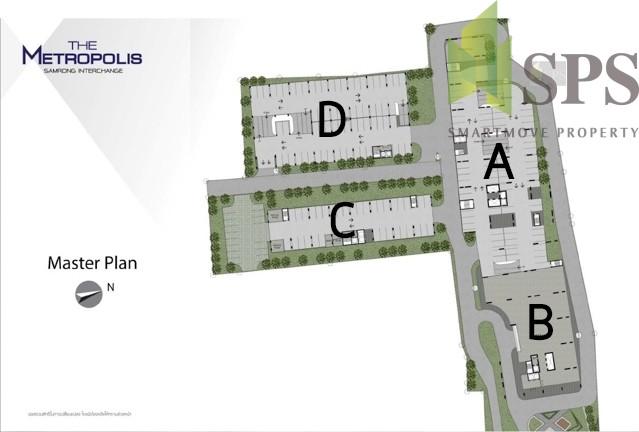 The-Metropolis-samrong-floorplan
