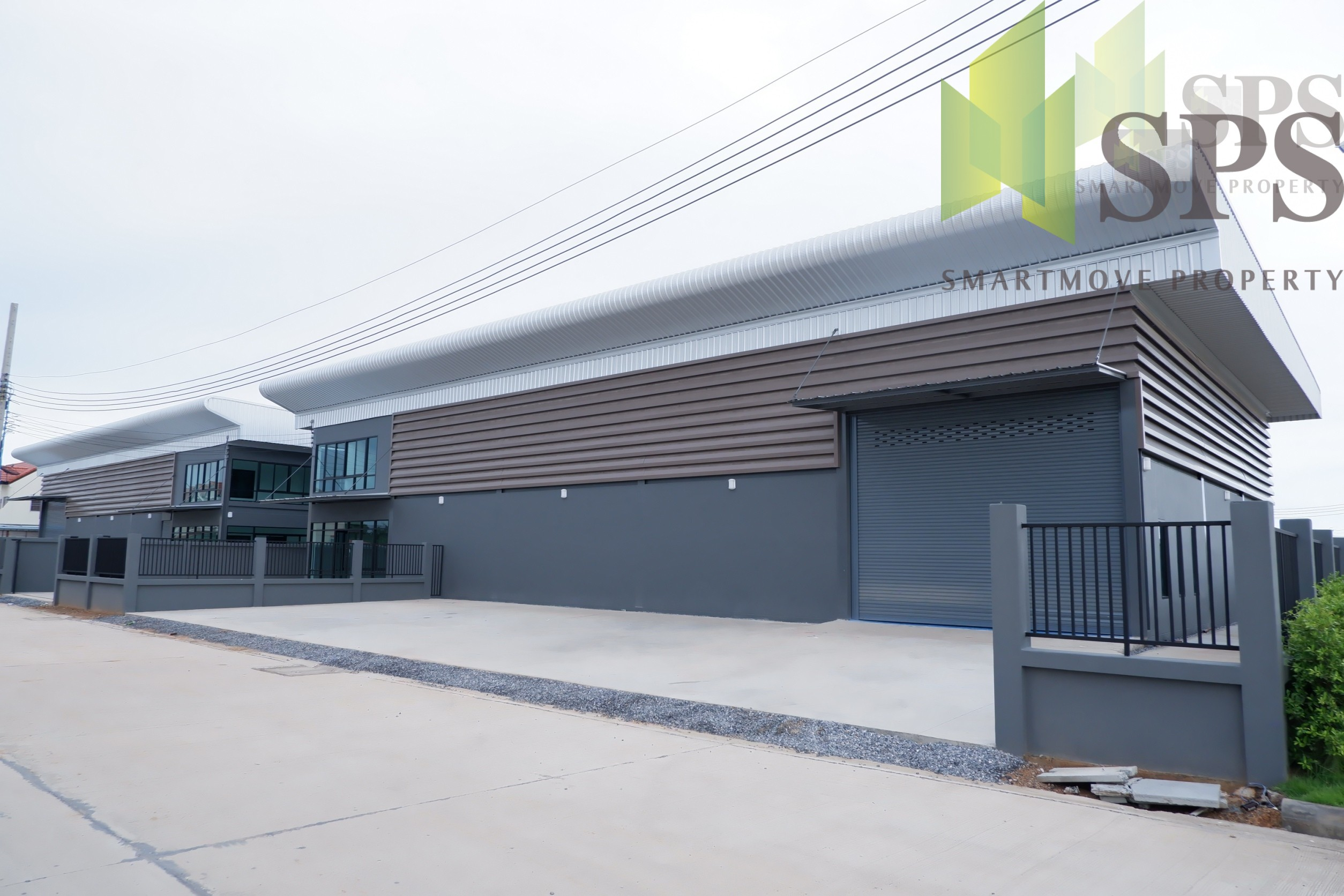New Modern Warehouse (A6) For SALE in Khlong Dan – Bang Phli ( SPSP26 )