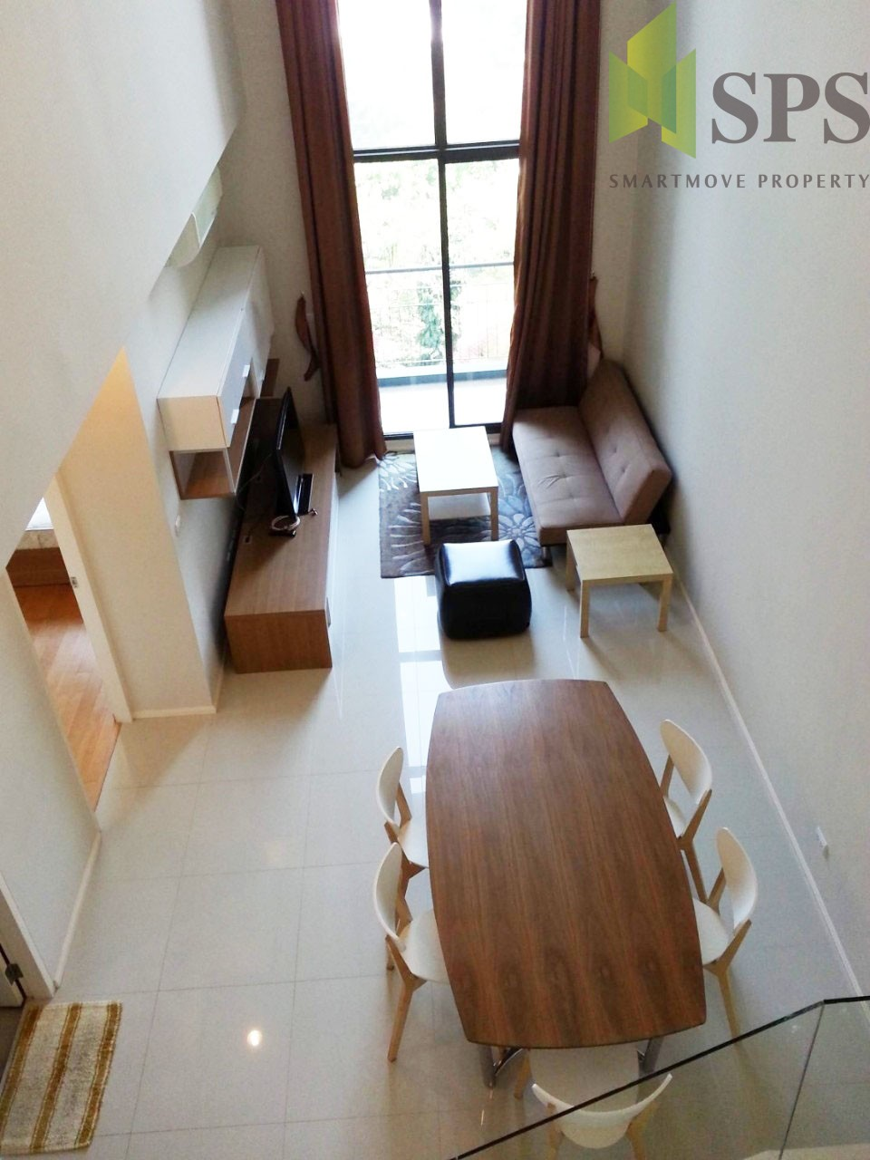 For Rent Condo 2 beds VILLA ASOKE ( SPS-GC220)