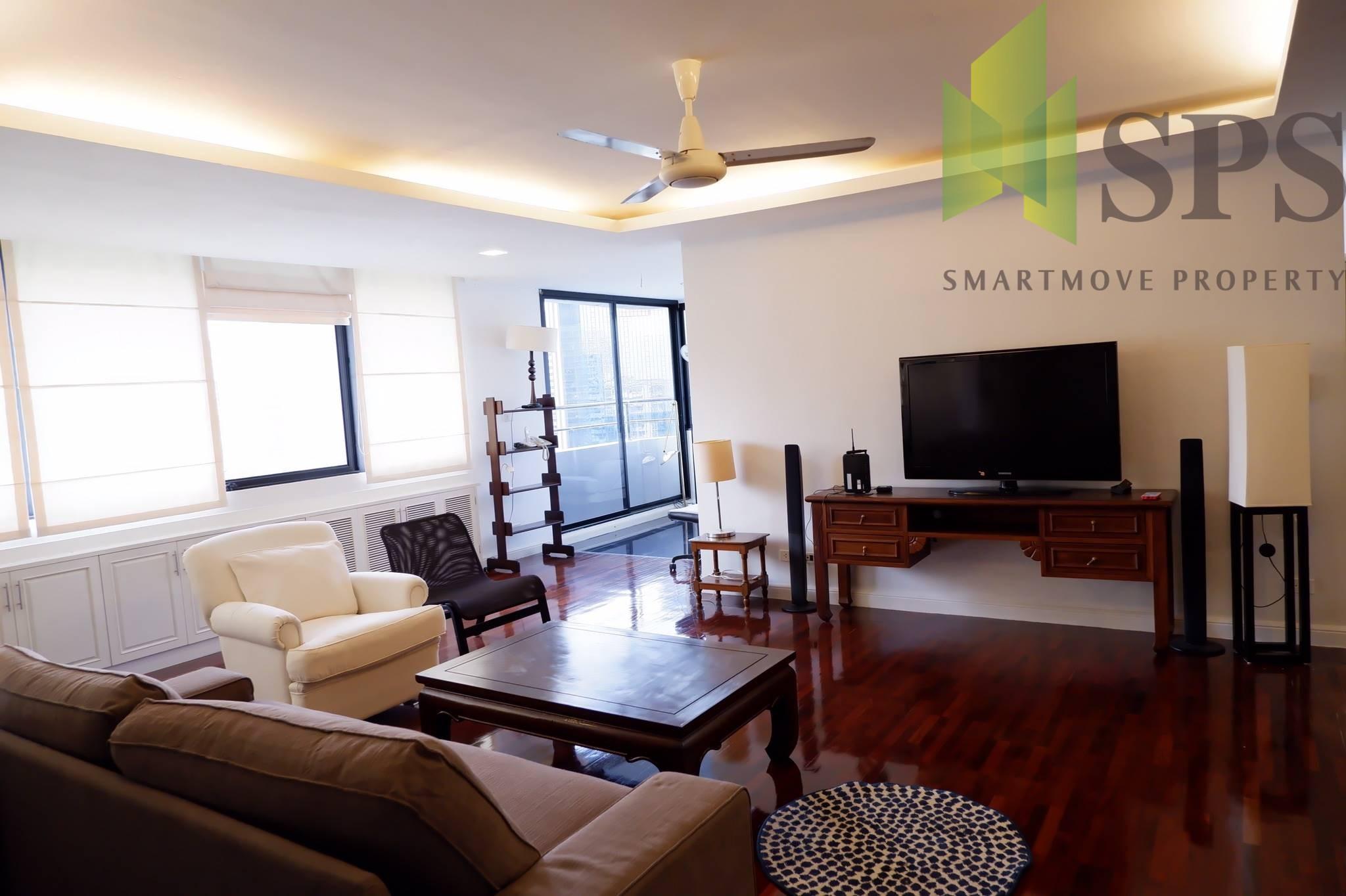 Sukhumvit Casa Condo 3 beds For RENT Asok BTS ( SPSP36)