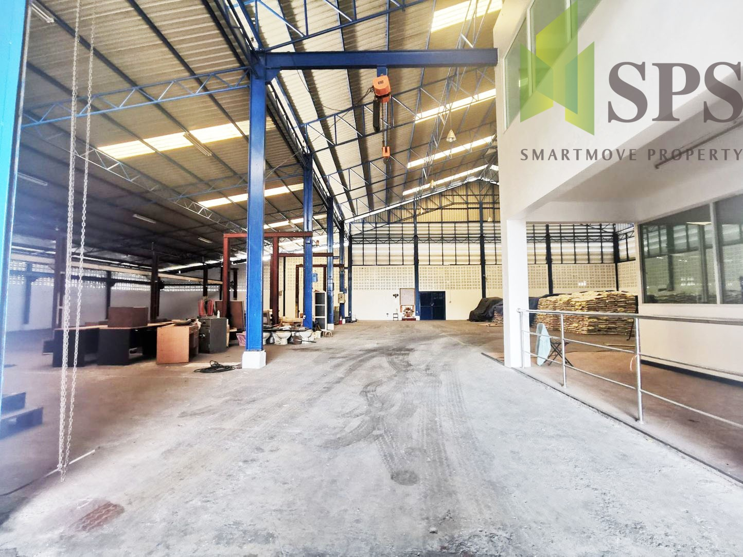 Warehouse for Rent / โกดังให้เช่าแพรกษา(SPS-W089)