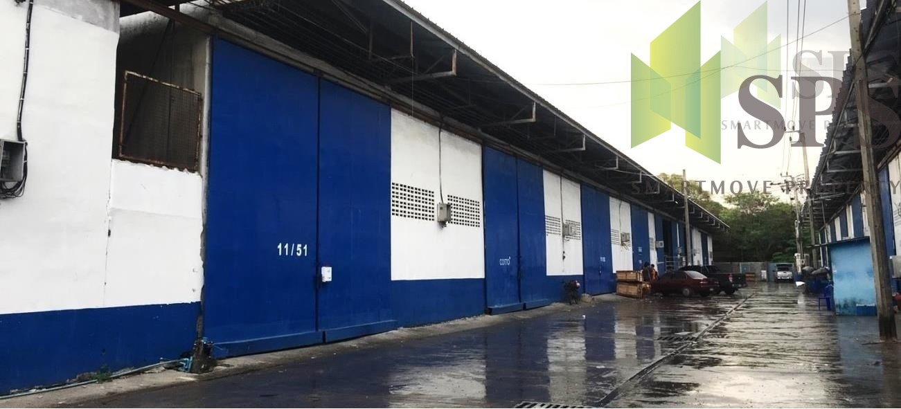 WAREHOUSE 612 Sq.m.FOR RENT AT NAMDAENG-BANGPLEE (SPS-PPW026)