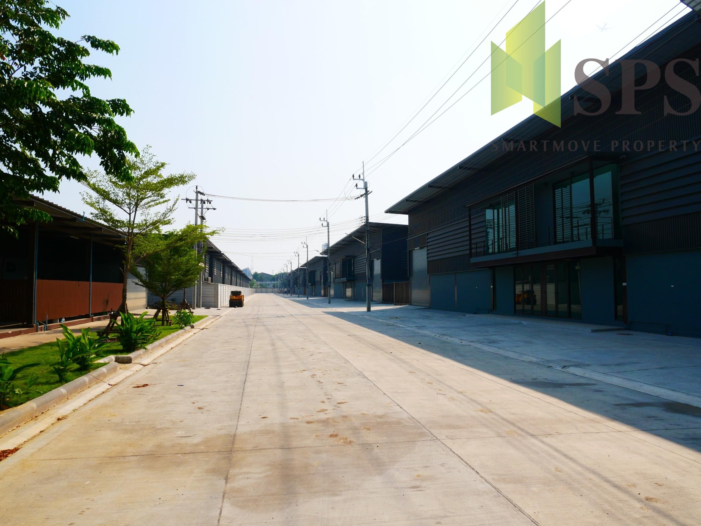WAREHOUSE FOR RENT / ให้เช่าอาคารโรงงาน เทพารักษ์-บางปลา(SPS-W099)