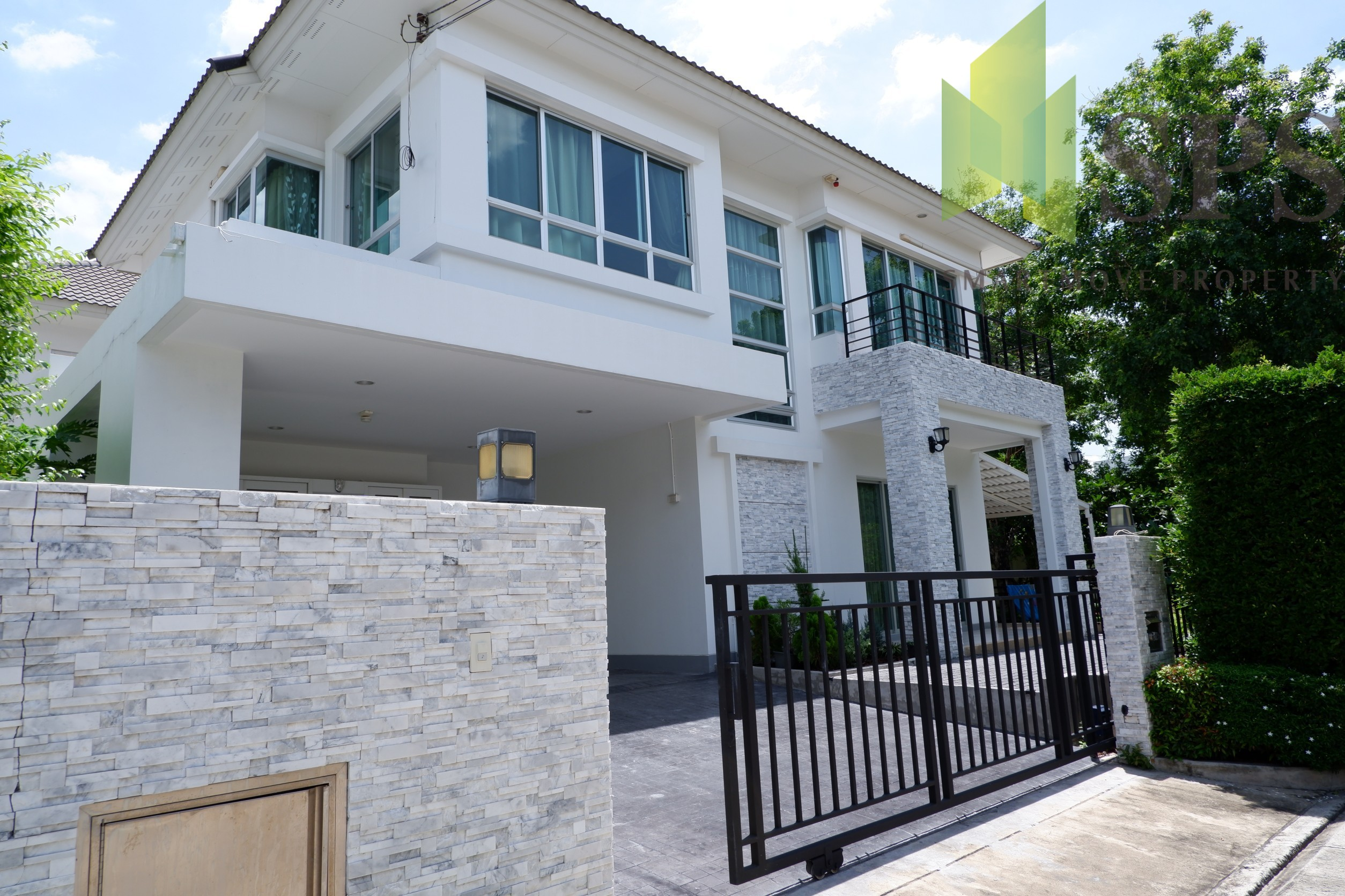 Bangkok Boulevard Rama 9-Srinakarin Single House For Rent (SPS-GH283)