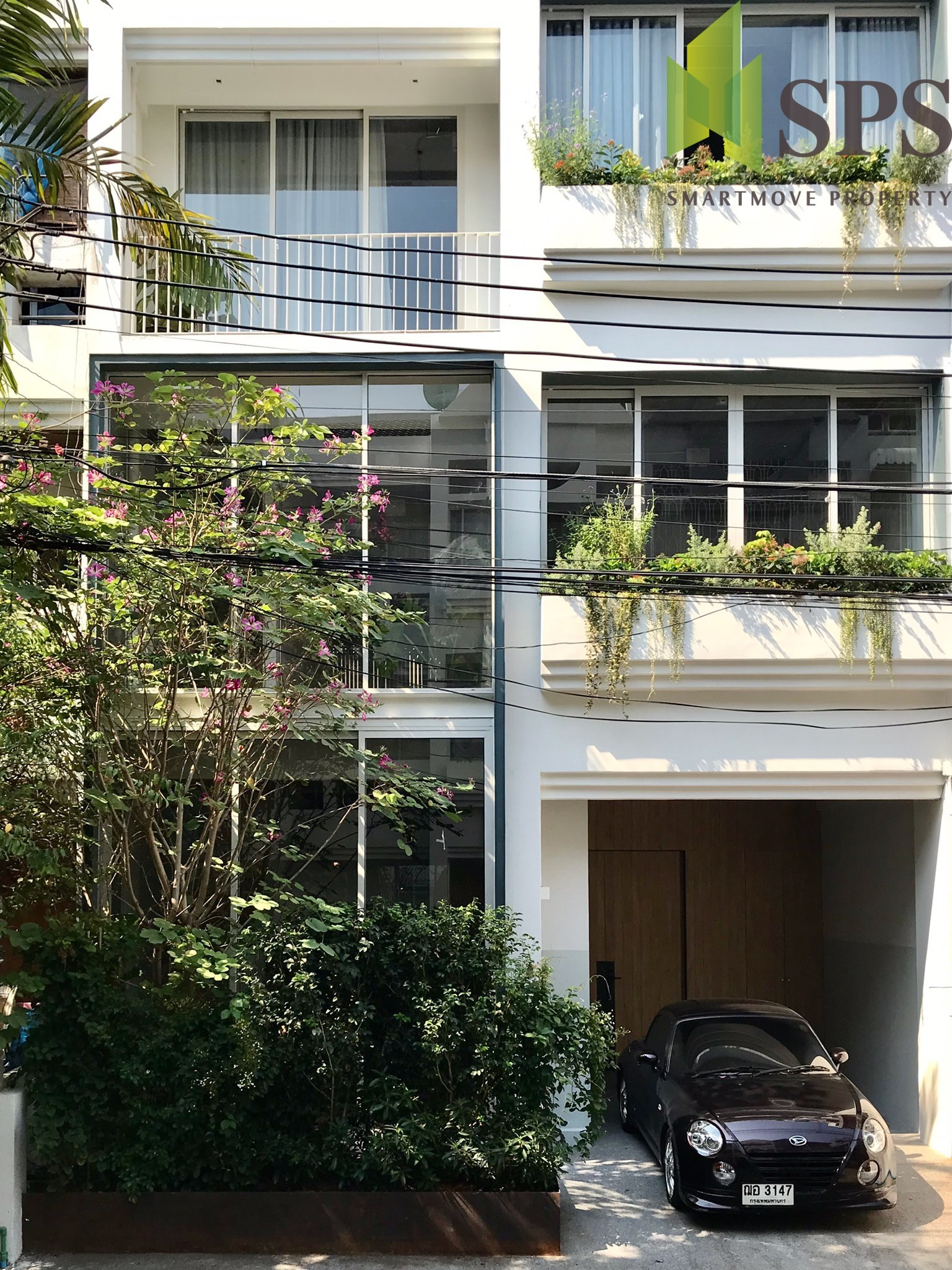 For Rent Townhouse 4 Storey in Sukhumvit 49/6 (Property ID:SPS-PP136)