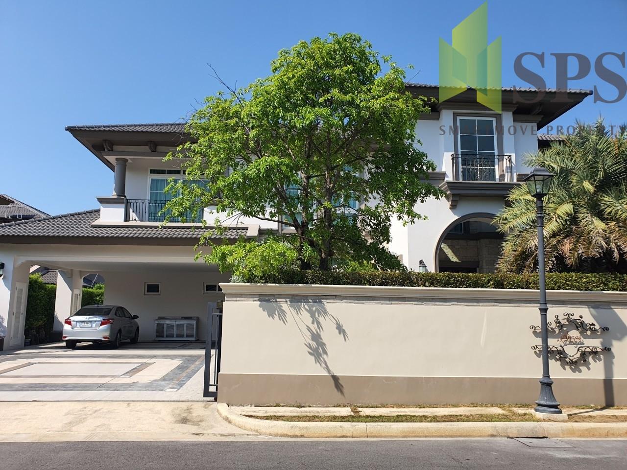 For Sale Luxury Single House NANTAWAN BANGNA KM.7ขายบ้านหรูโครงการนันวัน บางนา กม.7 (SPS Ann408)