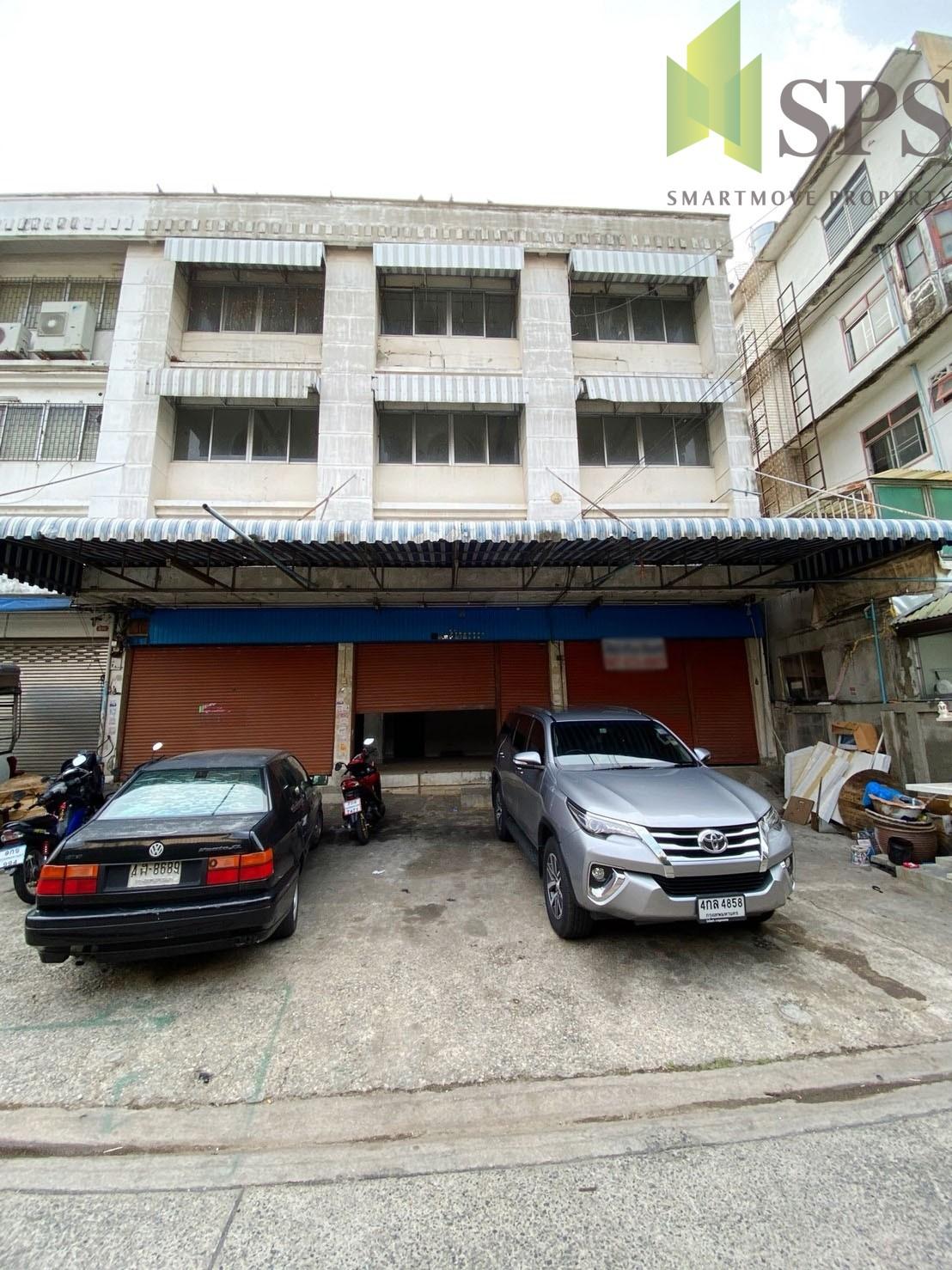 For rent /อาคารพาณิชย์ให้เช่า 101/1 วชิรธรรม (SPS-W113)