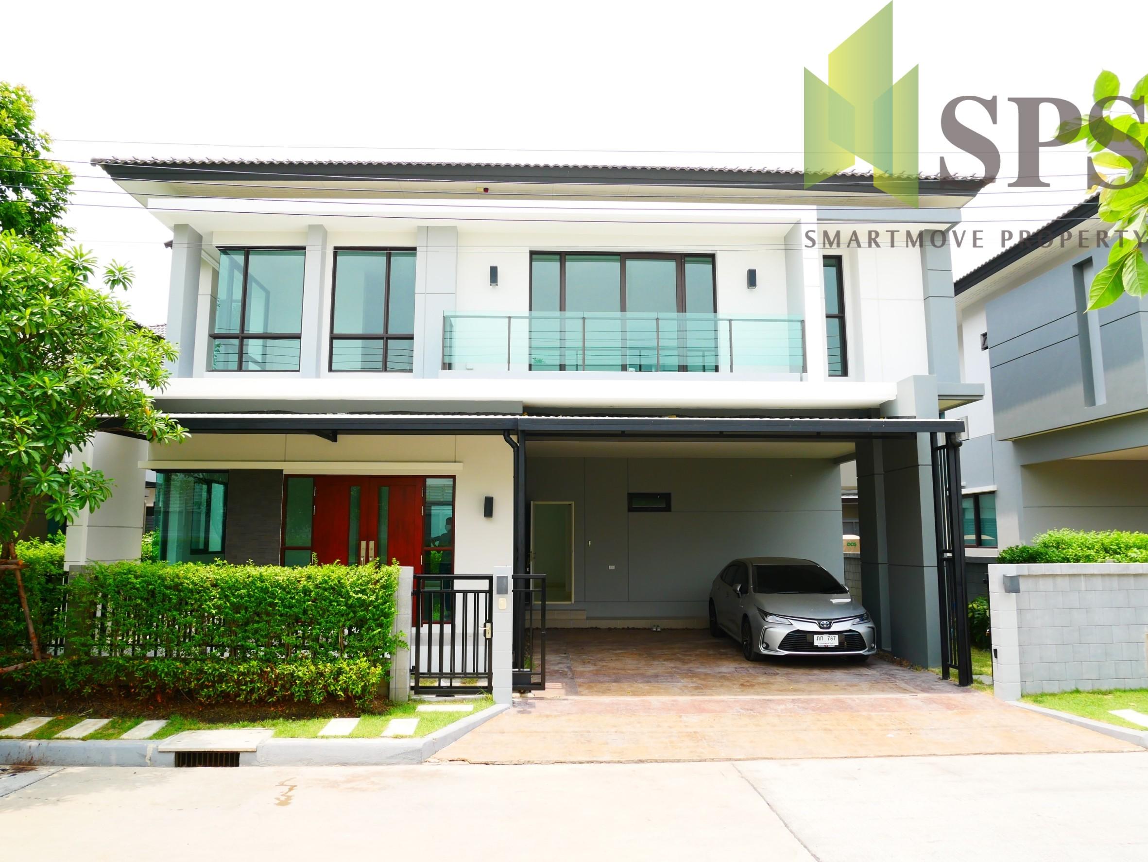 บ้านเดียวให้เช่า โครงการ The City Bangna Km.7(Sps-W117)