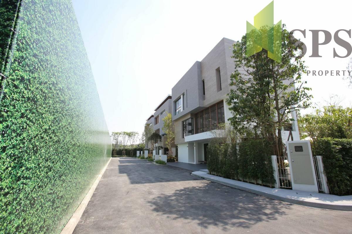 3 Story Luxury Single House in Pracpriva (พาร์ค พรีว่า) near Rama9 Road for RENT (SPSP219)