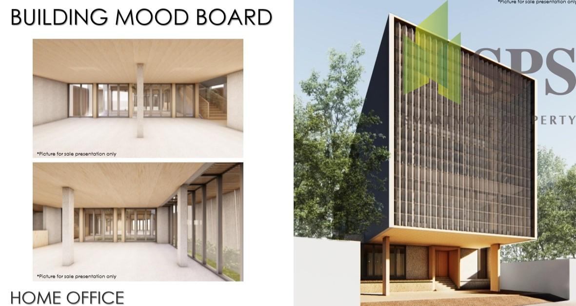 FOR RENT Brand New Home Office Near BTS Bangchak ให้เช่าโฮมออฟฟิศใหม่ใกล้ BTS บางจาก (SPSCS083)