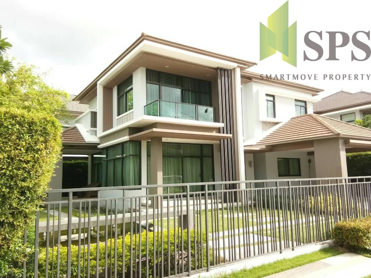 Modern Single House at The Grand Bangna – Wongwaen (SPS-GH362)
