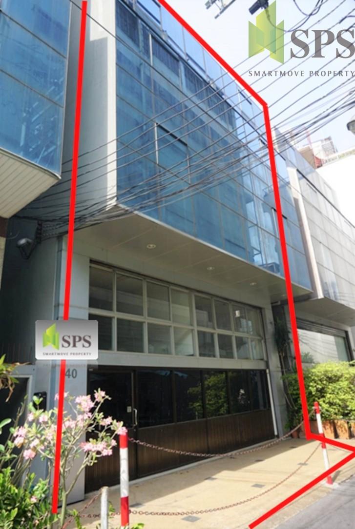 FOR RENT/SALE Double Shophouse Near Holiday Inn Silom. อาคารพาณิชย์ 2 คูหาให้เช่าและขายใกล้ฮอลิเดย์อินน์สีลม (SPSCS075)
