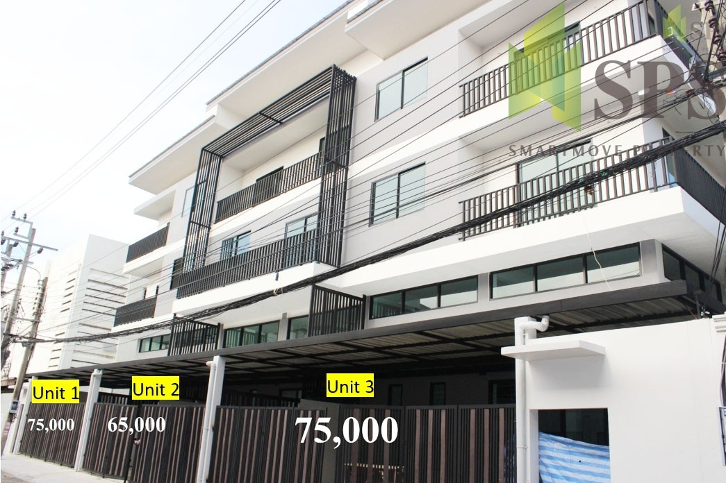 FOR SALE Home Office/Commercial Building in Sukhumvit 50 with Tenant ขายโฮมออฟฟิศพร้อมผู้เช่าสุขุมวิท 50 (Property ID: SPSCS078)